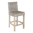 STOOLCOUNTSOLARW - Solar outdoor counter stool