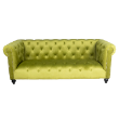 LNGLEONLIME - Leon 3 seat chesterfield
