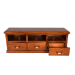 ENTMNTALBURY3DRW - Albury 3 drawer entertainment