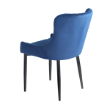 CHRINFINITYVELBL - Infinity chair blue velvet