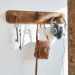 COATHKSFARMHOUSE - Farmhouse coat hook sml 3 hook