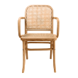 CHRTHEODOREWARMS - Theodore oak dining armchair