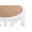 STOOLMIRAGEBIRWH - Mirage stool birch wood
