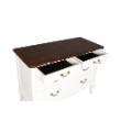 CHSTFRPROV4DRW - French provincial 4drw chest