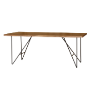 Moana Table 190 Metal Legs SBA 6299