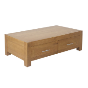 Cannes 2drw Oak Coffee Table SUV8224