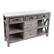 Andros Buffet White Wash 5077