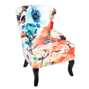 Blossom Chair Floral Velvet Fabric 2546 MYFT2018-24