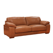Catalina 2 Seat Sofa Omega/Split Lth - Honey Ventura (1744)