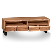 Bengal Entertainment Unit 4 Drawer with Legs