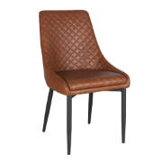 Aston Vintage PU Chair Tan DC- 1666 - Vintage Tan