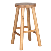 Opulence Bar Stool Recycled Oak Natural SDF028