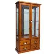 Albury 2 Door Display Cabinet  COU6630