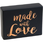 Ceramic Sign Black Love SG1256-4 9352166034667