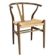 Shore Chair Rope Seat CSC2004-OAK