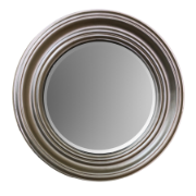 Sulu Mirror Silver Wood Frame with Bevel Mirror OH7
