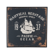 Nautical Heritage Logo 75cmx75cm ES-HD20