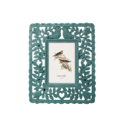 Resin Photo Frame Peacock Blue 4
