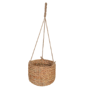 Hanging Planter Basket Natural w/ Arrow weave ERK-DC1907093-NAT