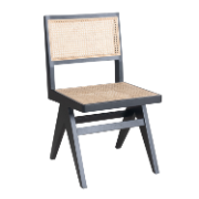 Antoine Dining Chair No Arms Black Frame Birch Wood CSC1924