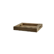Farmhouse Tray - Set of 3 55x38x8 Y120