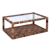 Jaya Coffee Table Tempered Glass Top #4095