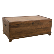 Trunk 120x65x47  Antique Brown Mango Wood 5196 (120x65)