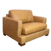 Heritage Arm Chair Tan Leather KF.102 M2832