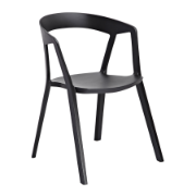 Phillippe Chair Black 210-APP