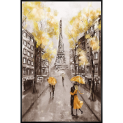Love in Paris 62x92cm ES-HD106