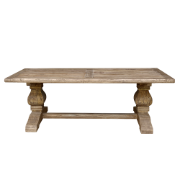 Provence refectory Table 2100x1000 Elm - Bullnose Edge JJ1594