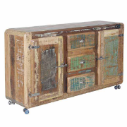 Nandi 2dr 3drw Buffet On Wheels SBA-5128B