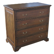 Blakely Chest 4 Drawer Mahogany Rustic Brown MA3615RBRN