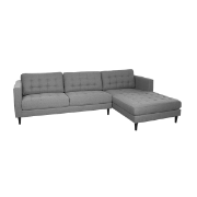 Cassie Right Hand Side Chaise Cement U501VB