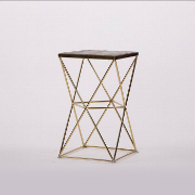 Bloc Lamp Table with Stainless Steel Base KFH10453