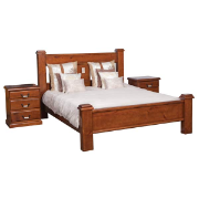 Diamond Queen Bed