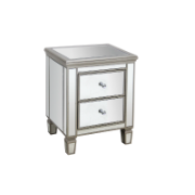 Clarissa Bedside with 2 drawers 51*42*66.5 GD-1879