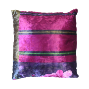 Dark Patchwork Cushion 40x40 ANNA-88C 40X40