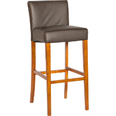 Sampson leather stool