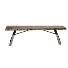 Nandi bench recycled wood