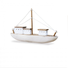 Farmhouse sailing boat