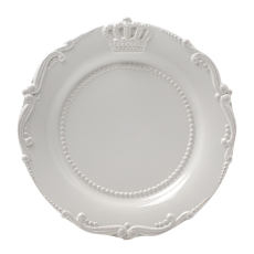 Louis crown side plate 34cm