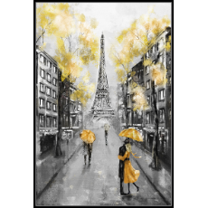 Love in paris 62x92cm