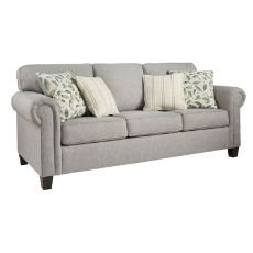 Anniston 3 seater grey fabric