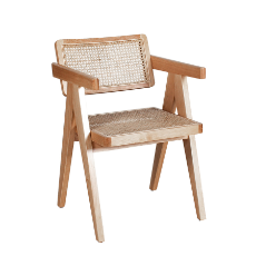 Antoine dining chair with arms