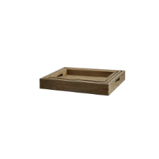 Farmhouse tray - set of 3