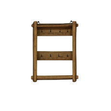 Farmhouse key shelf small