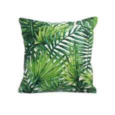 Oasis palm patio cushion