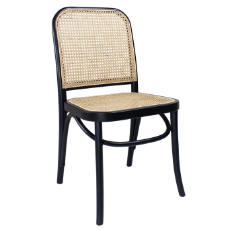 Theodore dining chair black