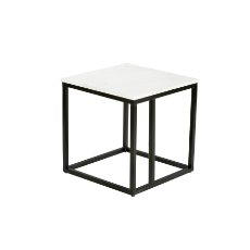 Agra 45cm lamp table square
